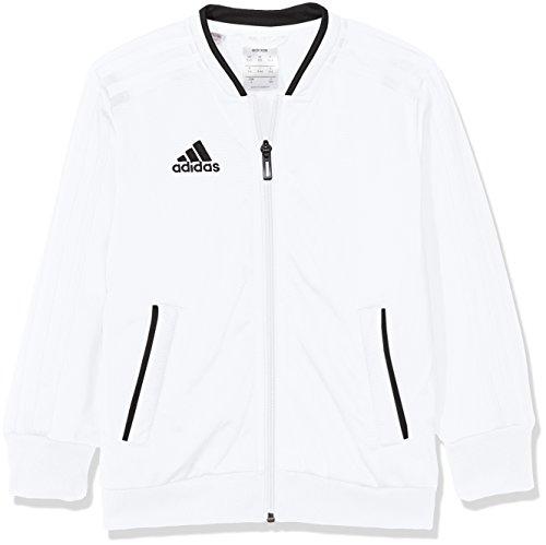 adidas Kinder Trainingsjacke Condivo 18, White/Black, 140, CF4340
