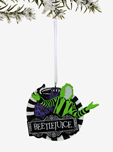 Hot Topic Beetlejuice Logo Ornament
