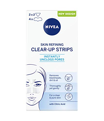 Nivea - CLEAR UP STRIP ZONA T 4 NASO 2 FRONTE MENTO - 6 PZ