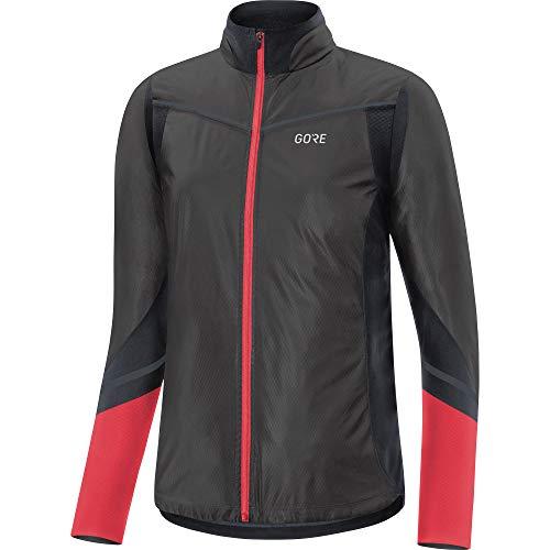GORE WEAR R5 Damen Langarm Lauf-Shirt Partial GORE-TEX INFINIUM , 36, Schwarz/Pink