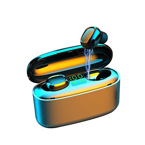 Mini Wireless Earbuds, TechCode IPX7 Waterproof Bluetooth 5.0 Wireless Earphone TWS Touch...