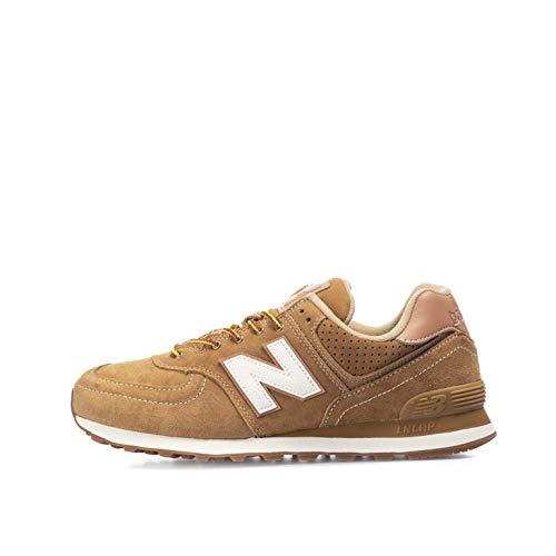 New Balance ML574XAA, Sneaker Hombre, Marrón, 44 EU