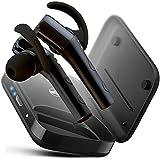 TREBLAB X5 Advanced Sports Bluetooth Earbuds, HD Sound w/Beryllium Speakers, 30H Battery, Waterproof IPX4, Noise Cancelling, Microphone, True x-Drop Running Wireless Headphones (Renewed)