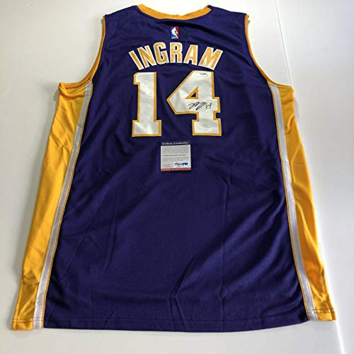 Brandon Ingram signed jersey PSA/DNA Los Angeles Lakers Autographed - Autographed NBA Jerseys