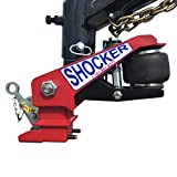 Shocker Gooseneck Air Hitch for PJ Trailer 30,000 lbs, Round 4