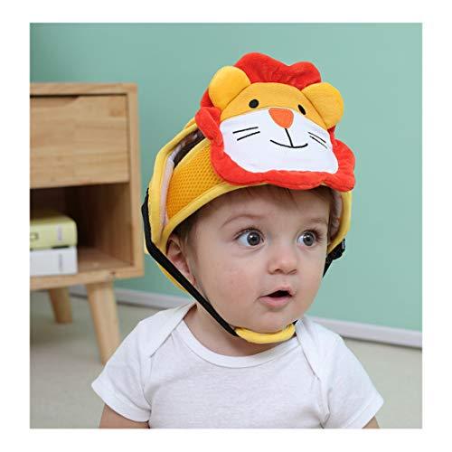 Casco protector para bebé/bebé Gorra protectora, primeros pasos Bumper Kid Acolchado Suave Cómodo Arnés de seguridad transpirable para aprender a caminar y arrastrarse
