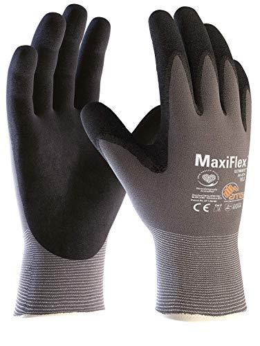3er Pack MaxiFlex Ultimate Arbeitshandschuhe, Montagehandschuhe (alle Größen), Größe:7 (S)