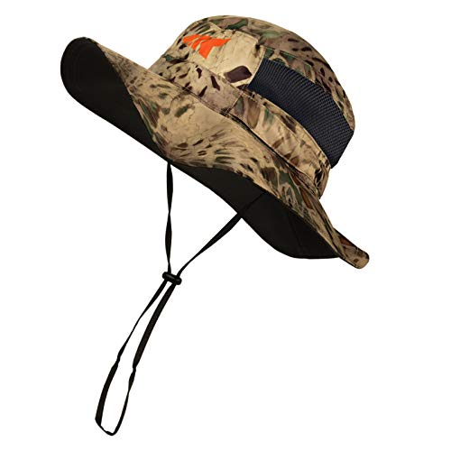 KastKing Sol Armis UPF 50 Boonie Hat - Sun Protection Hat, Fishing Hat - Breathable Fabric - Comfortable - Prym1 Camo, Multi-Purpose
