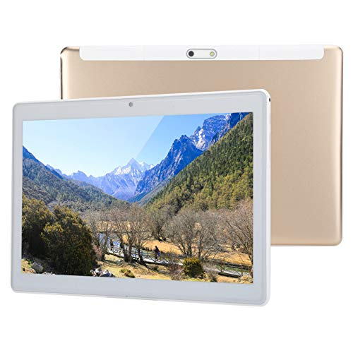 10 inch 8-Core Tablet, for Android 7.0, 1GB RAM, 32GB ROM, IPS LCD HD Display 3G Phone Tablet, with Dual SIM Card, Dual Camera, Built-in 5000Mah Battery, Support 5-Point Capacitive Touch(UK)