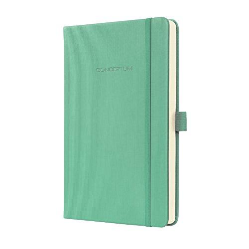 SIGEL CO620 Notizbuch, ca. A5 Hardcover, liniert, grün, Conceptum - viele Modelle