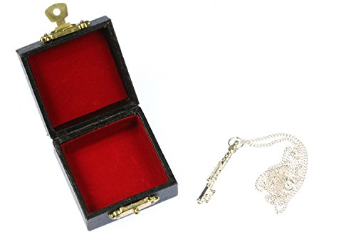 Miniblings Querflöten Kette Flöte Halskette Querflöte versilbert 4cm 60cm Box