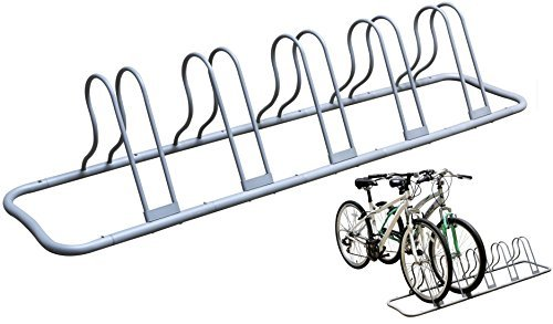 Decobros 5-bicycle parking rack