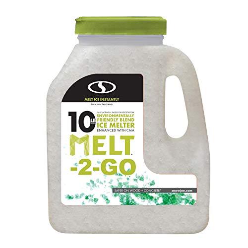 Snow Joe AZ-10-EB-JUG Melt-2-Go Nature + Pet Friendly CMA Blended Ice Melter, 10 lb Jug