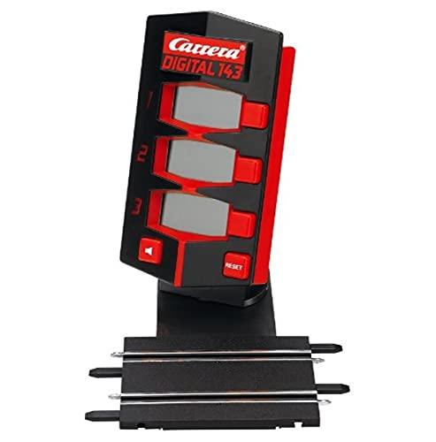 Carrera 20042008 DIGITAL 143 Rundenzähler – Individuelle Rundeneinstellung & Startampel – für jede Carrera DIGITAL 143 Rennbahn