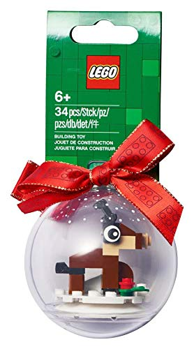 LEGO Christmas Reindeer Ornament