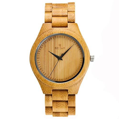 竹 木 腕 時計 ウッド シンプル 河野太郎と同じスタイルの 日本製 Citizenクオーツ 記念日 卒業祝い 昇進 取引先 父の日 バレンタインデー