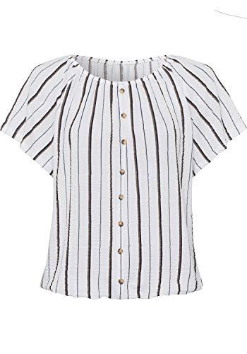Lascana Damen Carmenshirt