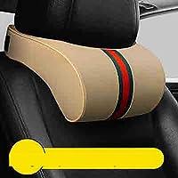 NASHDZ 車のヘッドレスト ネックピロー サポート 自動シート ヘッドレスト クッション アクセサリー