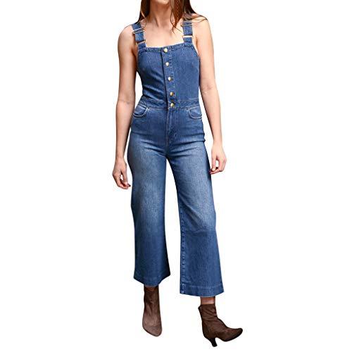 bobo4818 Jeans Damen Hose Latzhose Skinny Latzjeans Röhrenjeans Hüftjeans Low Waist Overall mit Träger Overall Jumpsuit Trägerhose Hoseanzug (S, Style-3)