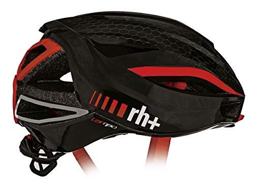 rh+(アールエイチプラス) ヘルメット ヘルメット ランボ [LAMBO] シャイニーブラック/シャイニーレッド XS/...