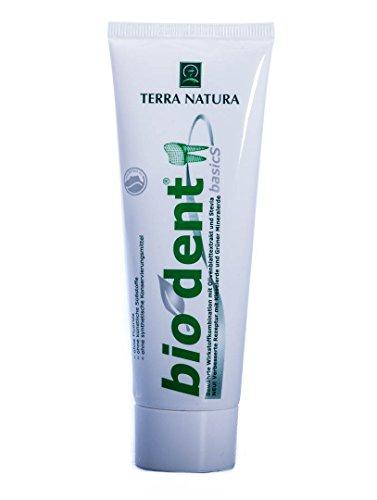 Biodent Basic - Terra Natura - Zahncreme 75ml mit Stevia
