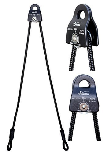 eaglefit Sling Trainer Erweiterung mit Umlenkrolle und Seil; für Schlingentrainer