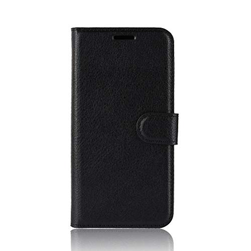 Qiaogle Funda Nokia 2.2 - PU Cuero Billetera Clamshell Carcasa Cover para Nokia 2.2 - FC02 / Negro