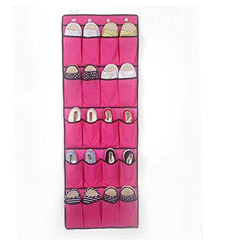 ARMAC 20 rejilla zapatos no tejidos bolsa de almacenamiento de artículos para el hogar bolsa de almacenamiento puerta colgante