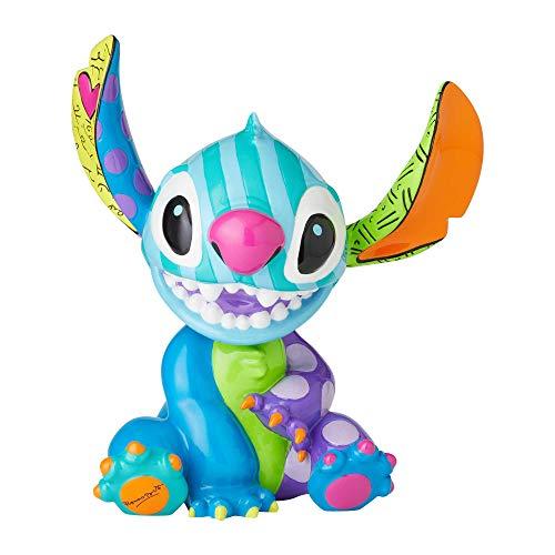 Disney Britto Stitch Figurine, Multi-Colour, One Size