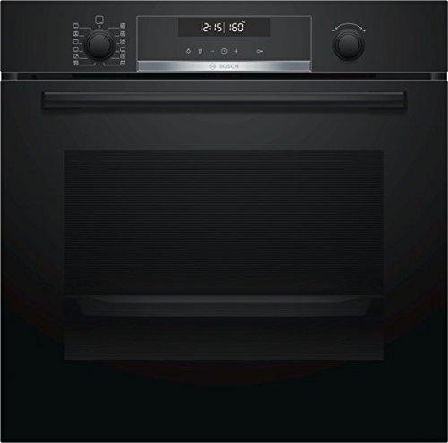 Bosch HBA578BB0 Serie 4 Einbau-Backofen / A / 71 L / Schwarz / Klapptür / LCD-Display / 10 Beheizungsarten / AutoPilot 10 / Pyrolyse / 3D Heißluft