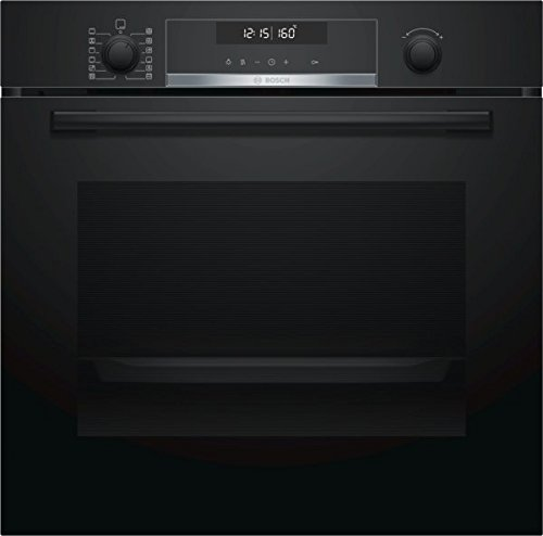 Bosch HBA578BB0 Backofen (Elektro/Einbau) / 59,4 cm / Vollglas-Innentür, schwarz