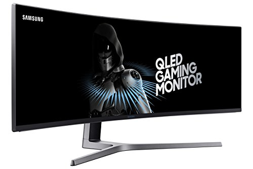 Samsung Electronics LC49HG90DMNXZA CHG90 Series Curved 49-Inch Gaming Monitor (Renewed)