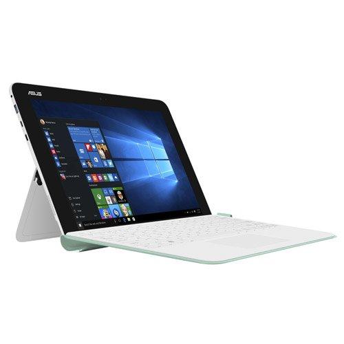 """Asus Transformer Mini T102HA-GR059T Notebook Convertibile, Display da 10.1""""HD, Processore Intel Atom Z8350, 1.44 GHz, RAM da 4 GB, EMMC da 128 GB, Bianco Perla"""