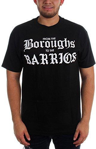 Famous Stars and Straps - Herren RS Boroughs Männer-T-Shirt, Small, Black