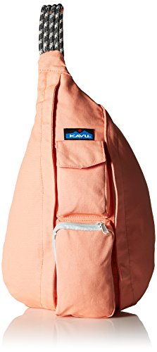 KAVU Rope Bag, Coral, One Size Multicolored Rope