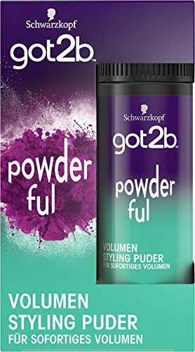 Schwarzkopf got2b Powder POWDER' ful volumen Styling Puder, 1er Pack (1 x 10 g)