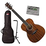 Ibanez AC340L OPN Left-Handed Mahogany Top Acoustic Guitar w/Bag, Stand, and Clo