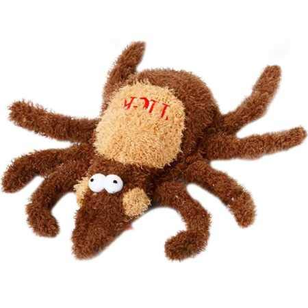 Multipet Tick Plush Dog Toy