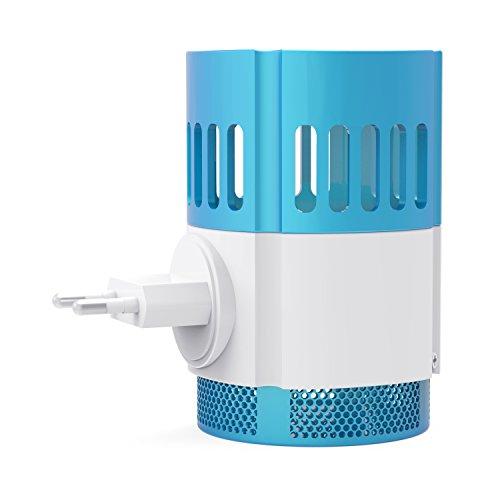 Ardes elektrisches Fliegengitter mit Entladung PP-Kunststoff hellblau