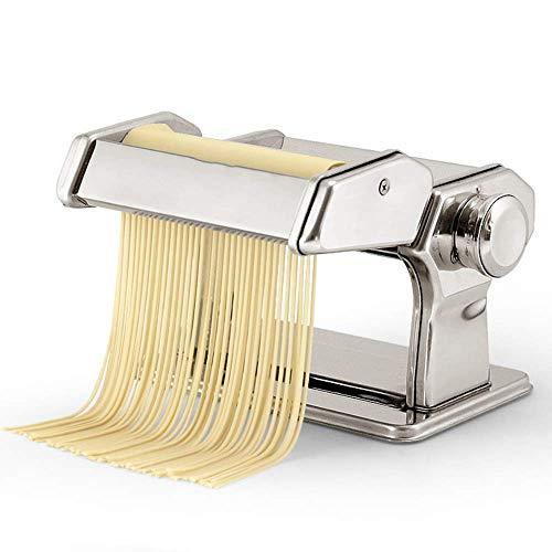 Noodle Maker Fabricante manivela de mano – Máquina de cortar fideos ideal para fideos...