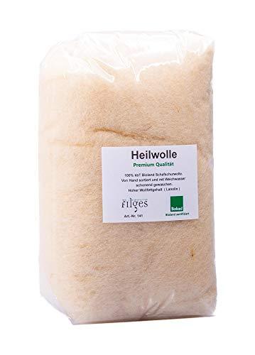 Heilwolle 100g Bioland-Qualität, kontrolliert biologische Tierhaltung, KbT