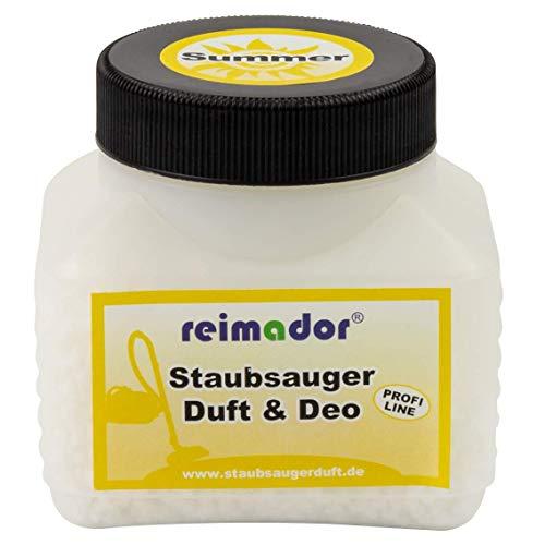 reimador Staubsauger Duftgranulat Summer 250 ml Geruchskiller zur Geruchsbeseitigung beim Saugen