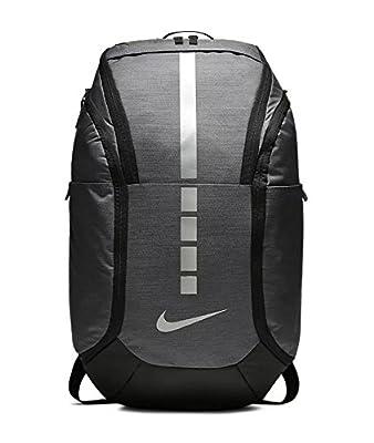 Nike Hoops Elite Pro Backpack (Dark Grey/Black/Metallic Cool Grey)