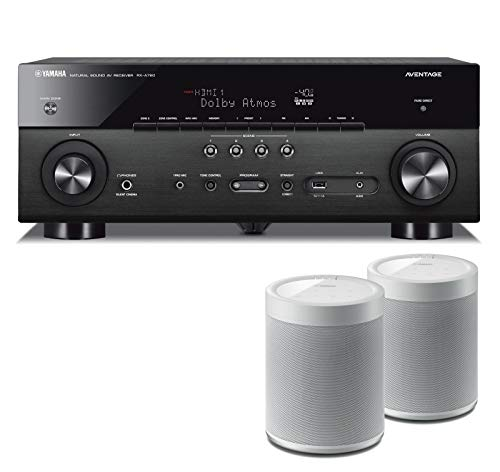 Check Out This Yamaha RXA880 7.2-Channel AV Network Receiver Bundle with Yamaha MusicCast 20 Wireles...