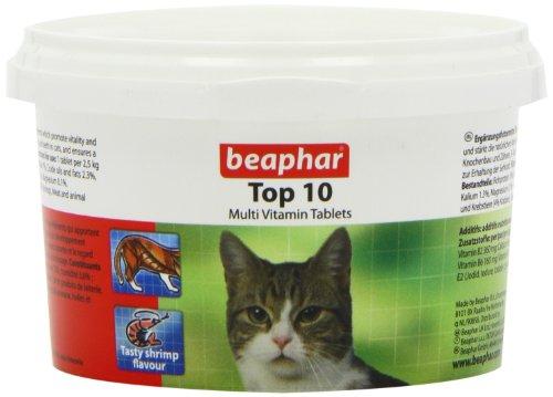 Beaphar Top 10 Cat Vitamin 180 Tablets