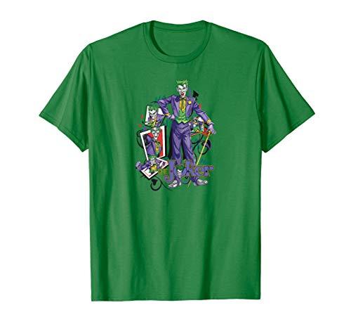 Batman the Joker Wild Cards T-Shirt