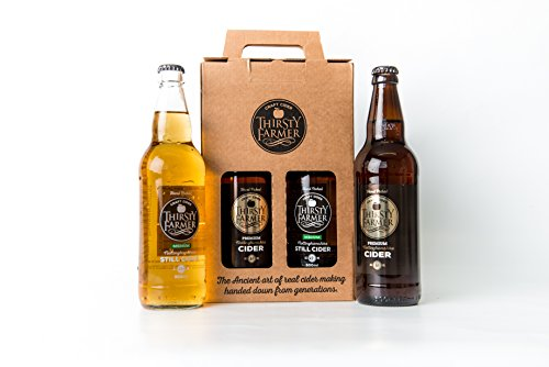 Thirsty Farmer Craft Cider Mixed Gift Box (x4 500ml bottles)