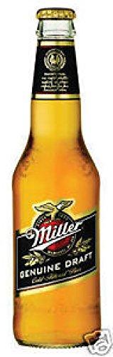 12 Flaschen Miller Genuine Draft a 0,33L inc. 3.00€ EINWEG Pfand Beer Glas