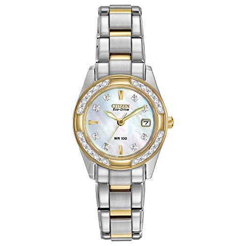 Best Women's Watches Under 500 - Citizen Women's Eco-Drive EW1824-57D