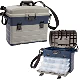 XXL Tackle Organizer/Tacklebox Sitzkiepe Transportkoffer Gerätekasten Forellen